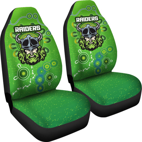 Canberra Raiders Car Seat Covers Indigenous Country Style K36