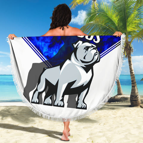 Bulldogs Beach Blanket TH4