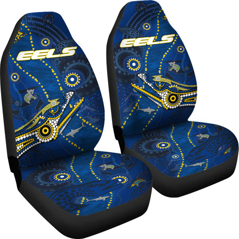 Image of Eels Indigenous Car Seat Covers Parramatta TH6