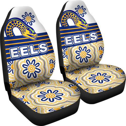 Eels Rugby Car Seat Covers Indigenous Parramatta Newest White K13
