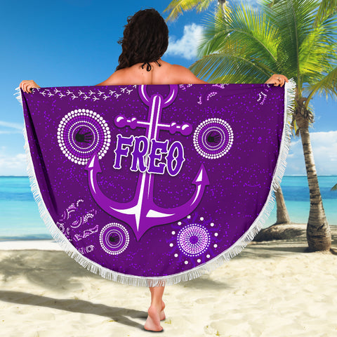 Fremantle Beach Blanket Indigenous Freo Country Style K36