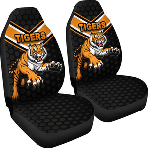 Wests Car Seat Covers Tigers K8