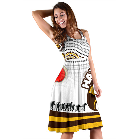 Image of Pride Hawks Women's Dress Hawthorn Anzac Day Aboriginal TH12