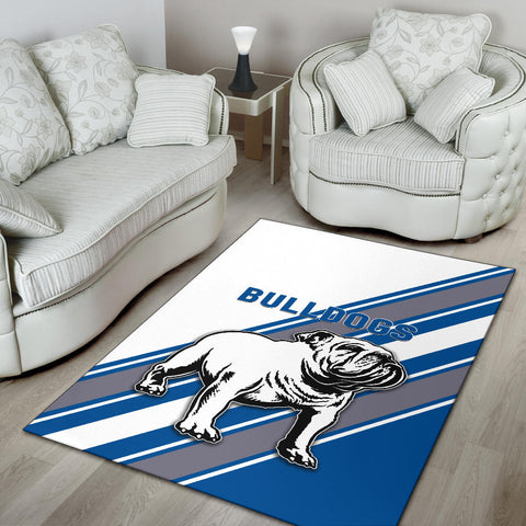 Canterbury-Bankstown Bulldogs Area Rug Simple Style K8