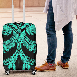Samoan Tattoo Luggage Covers Turquoise TH4 - 1st New Zealand