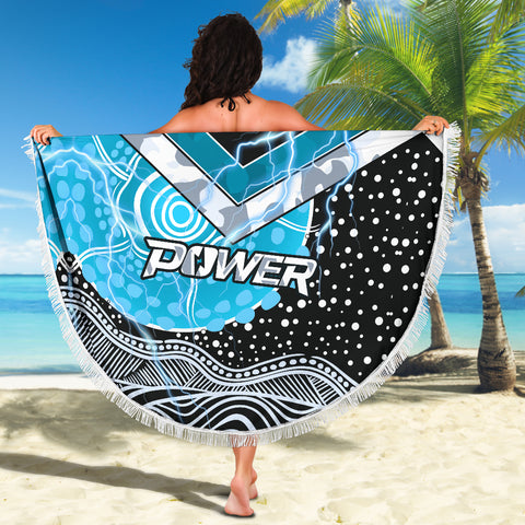 Power Anzac Day Beach Blanket Port Adelaide Lighting K13
