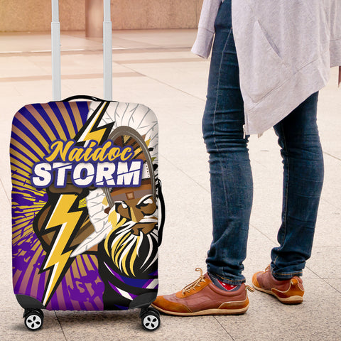 Storm Naidoc Week Luggage Covers Indigenous Style | Rugbylife.co