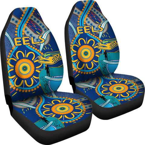 Image of Parramatta Car Seat Covers Eels Indigenous K4