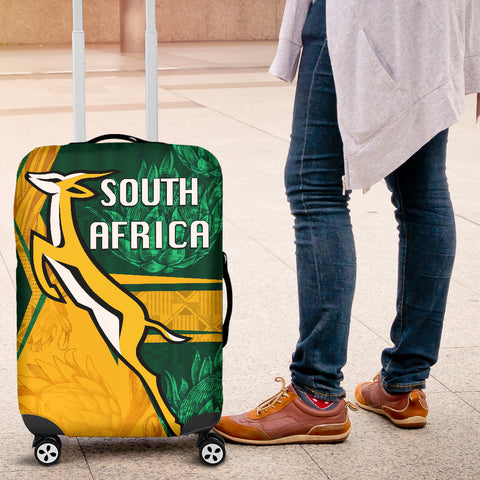 South Africa Luggage Covers Springboks Rugby Be Fancy K8