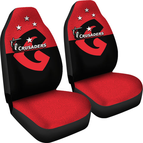 Crusaders New Zealand Car Seat Covers