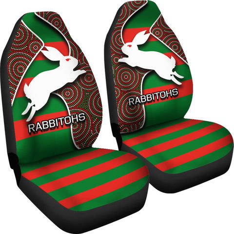 Rabbitohs Car Seat Covers TH4