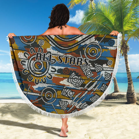 Indigenous All Stars Beach Blanket TH6