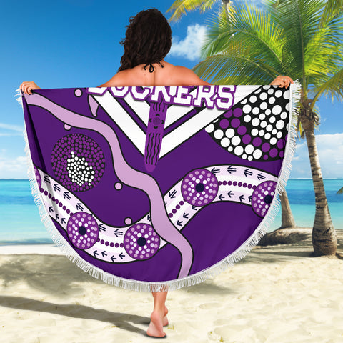 Dockers Beach Blanket Indigenous Fremantle - Freo K13