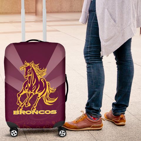 Brisbane Broncos Indigenous Luggage Covers TH5