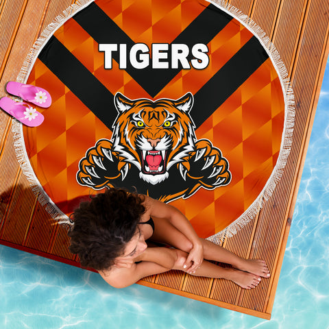 Balmain Beach Blanket Tigers Orange Vibes No.2 K8