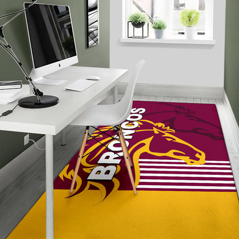 Brisbane Broncos Area Rug Th4