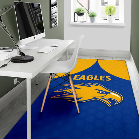 Eagles Area Rug West Coast - Royal Blue K8