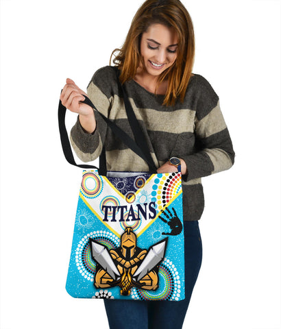 Gold Coast Tote Bag Titans Gladiator Unique Indigenous K8