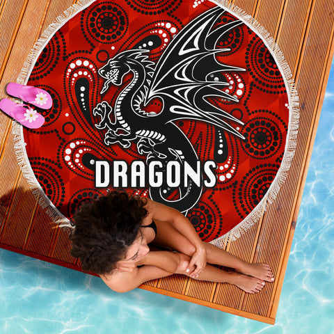 St. George Dragons Beach Blanket Simple Indigenous K8