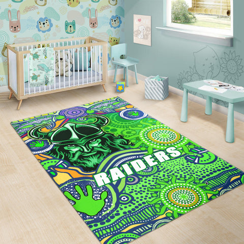Raiders Newest Area Rug Come On Green K13
