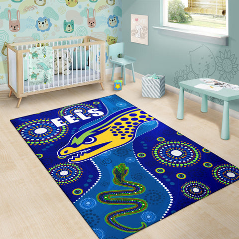 Image of Eels Indigenous Special Area Rug K13
