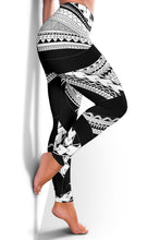 Load image into Gallery viewer, Samoan Tattoo Women's Leggings White TH4 - 1st New Zealand