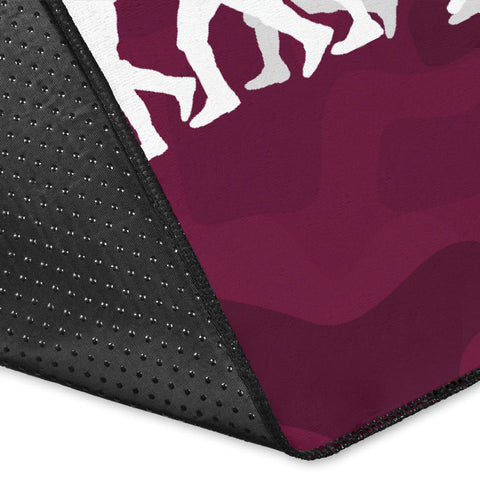 Manly Warringah Area Rug Sea Eagles Anzac Day Camouflage Vibes K8