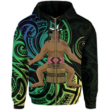 Load image into Gallery viewer, New Zealand Maori Zip Hoodie Traditional Haka K4 - 1st New Zealand