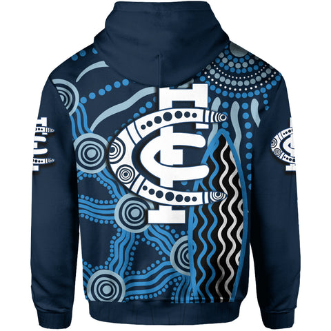 Carlton Blues Hoodie Aboriginal TH4