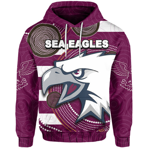Sea Eagles Hoodie Aboriginal