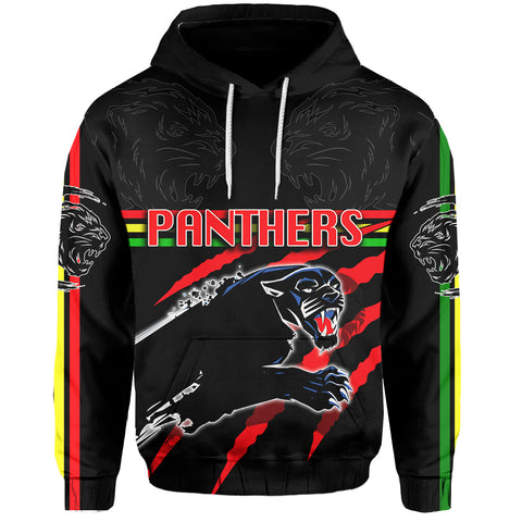 Panthers All Over Hoodie Claws