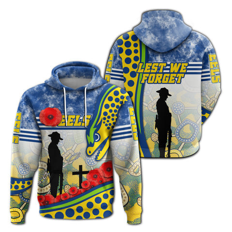 Image of Eels Rugby Hoodie Indigenous Anzac Day | Rugbylife.co