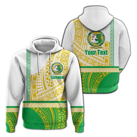 (Custom) Liahona Tonga Hoodie Polynesian Traditional Style | Rugbylife.co