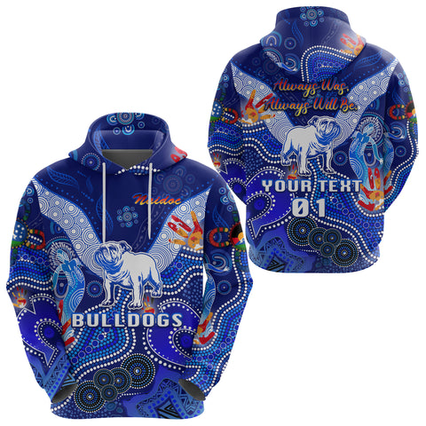 (Custom Personalised) Canterbury-Bankstown Bulldogs Hoodie Naidoc Heal Country! Heal Our Nation, Custom Text And Number