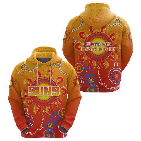 Image of Naidoc Suns Hoodie Gold Coast Indigenous Style