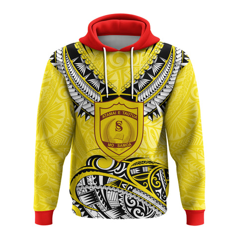 (Custom) Samoa College Hoodie Polynesian Style Version Special | rugbylife.co