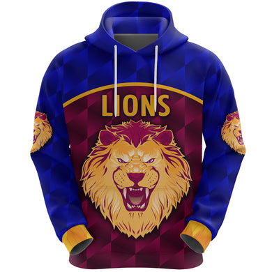 Brisbane Lions Hoodie Powerful