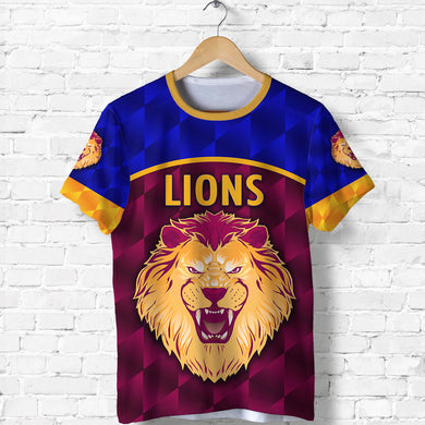 Brisbane Lions T Shirt Powerful