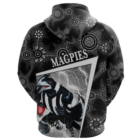 (Custom Personalised) Collingwood Magpies Hoodie Football Indigenous Limited Edition NO.1 K8