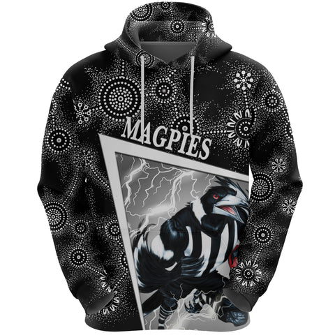 Collingwood Magpies Hoodie Football Indigenous Limited Edition NO.1 K8