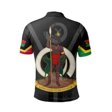 Load image into Gallery viewer, Vanuatu Flag Coat Of Arm Polo  Shirt - J4