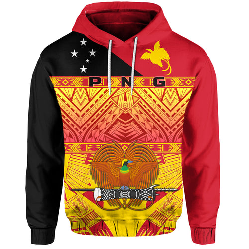 Papua New Guinea - Kumuls Hoodie Rugby