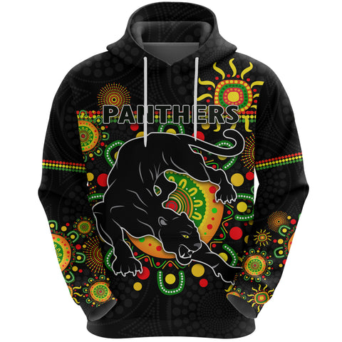 Penrith Hoodie Indigenous Panthers - Black