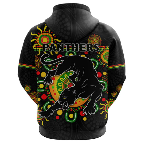 Penrith Hoodie Indigenous Panthers - Black K8