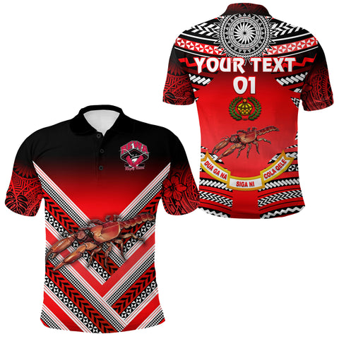 (Custom Personalised) Rewa Rugby Union Fiji Polo Shirt Creative Style, Custom Text And Number
