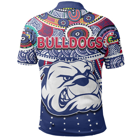 Image of Naidoc Western Bulldogs Polo Shirt Indigenous K6