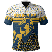 Load image into Gallery viewer, Brumbies Polo Shirt