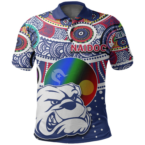 Image of Naidoc Western Bulldogs Polo Shirt Indigenous