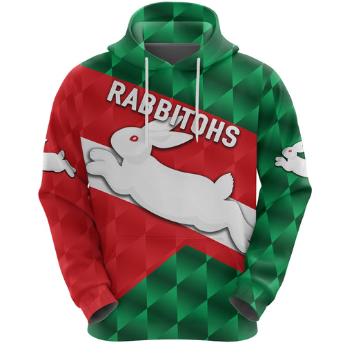 Rabbitohs Hoodie Sporty Style