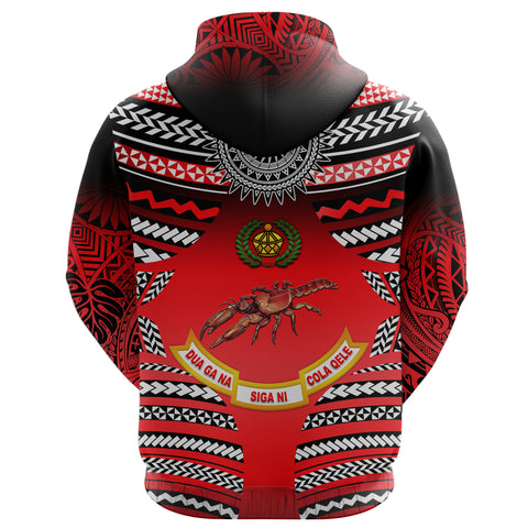 Image of (Custom Personalised) Rewa Rugby Union Fiji Hoodie Creative Style K8